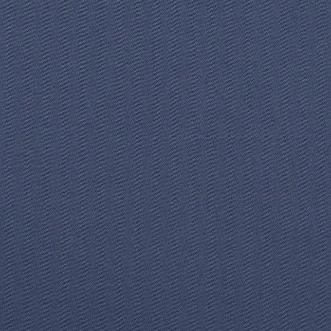 コットン&リネン混×無地(アッシュブルー)×サテンストレッチ_全4色 イメージ1