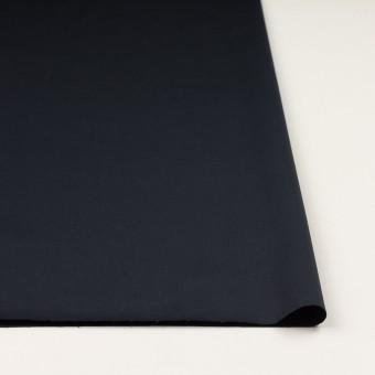 コットン&リネン混×無地(ダークネイビー)×サテンストレッチ_全4色 サムネイル3