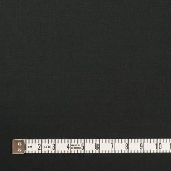 コットン&リネン混×無地(チャコールブラック)×サテンストレッチ_全4色 サムネイル4