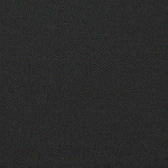 コットン&リネン混×無地(チャコールブラック)×サテンストレッチ_全4色 サムネイル1