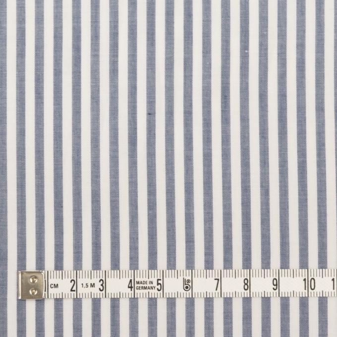コットン×ストライプ(ブルー)×ローン イメージ4
