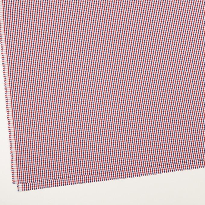 コットン×チェック(レッド&ネイビー)×オックスフォード_全3色 イメージ2