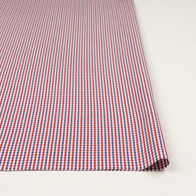 コットン×チェック(レッド&ネイビー)×オックスフォード_全3色 イメージ3