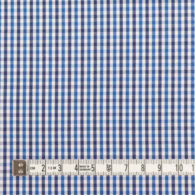 コットン×チェック(ブルー&ネイビー)×オックスフォード_全3色 イメージ4