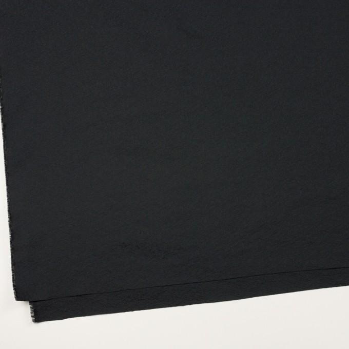 ポリエステル&ナイロン×無地(ブラック)×ジャガード イメージ2