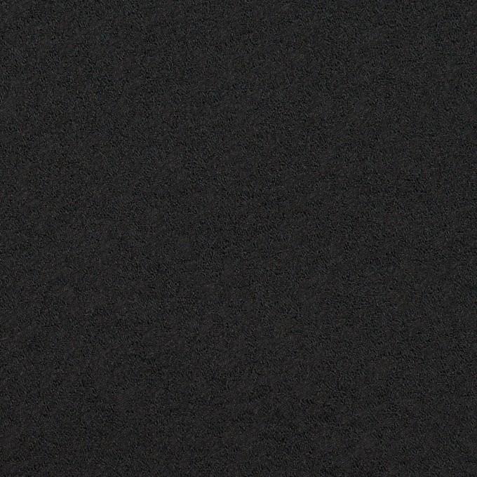 ポリエステル&ナイロン×無地(ブラック)×ジャガード イメージ1