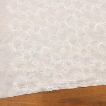 コットン×サークル(オフホワイト)×ボイル刺繍 サムネイル2