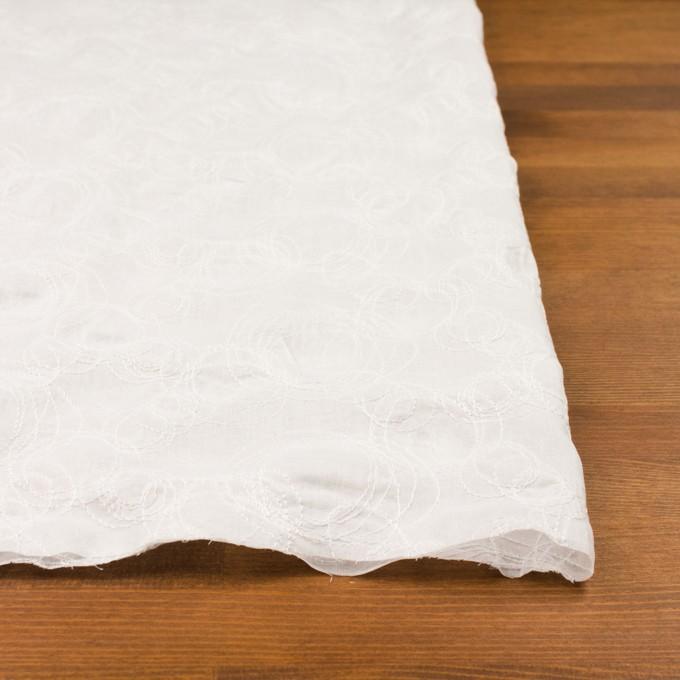コットン×サークル(オフホワイト)×ボイル刺繍 イメージ3