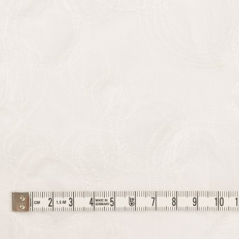 コットン×サークル(オフホワイト)×ボイル刺繍 サムネイル4