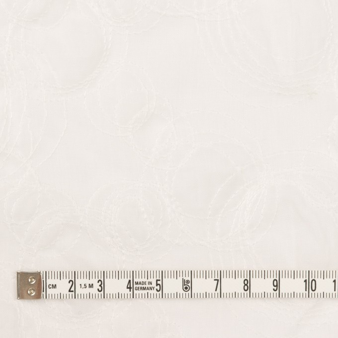 コットン×サークル(オフホワイト)×ボイル刺繍 イメージ4