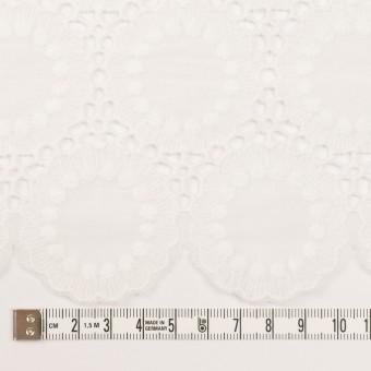 コットン×フラワー(オフホワイト)×ローン刺繍 サムネイル6
