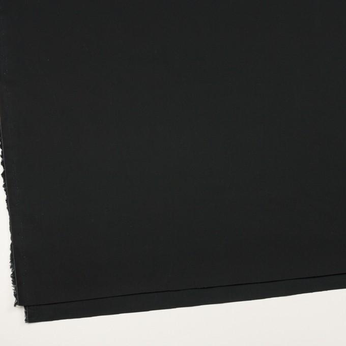 コットン×無地(ブラック)×高密ブロード イメージ2