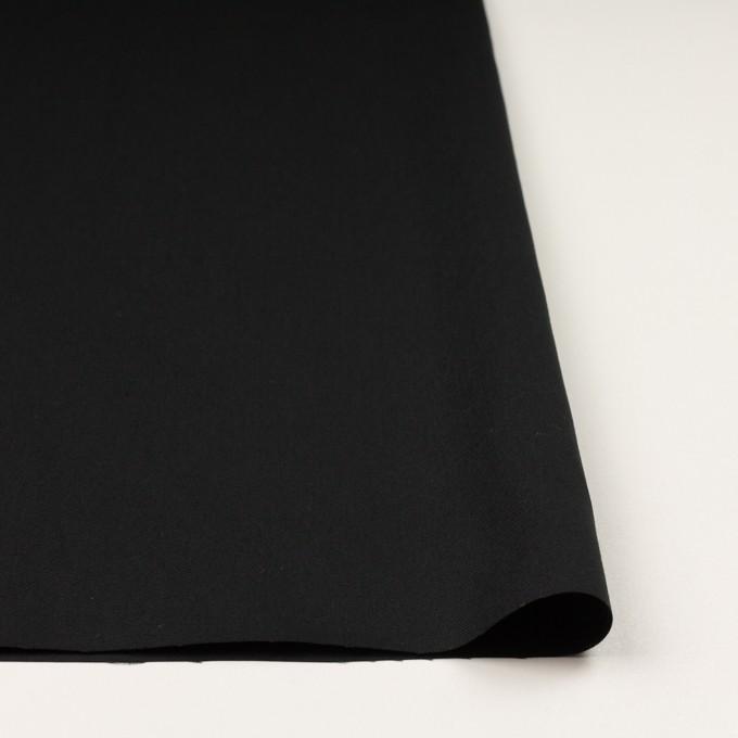 コットン×無地(ブラック)×オックスフォード イメージ3
