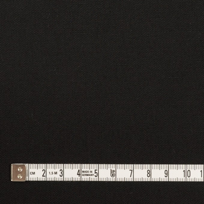 コットン×無地(ブラック)×オックスフォード イメージ4
