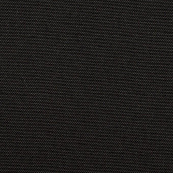 コットン×無地(ブラック)×オックスフォード イメージ1