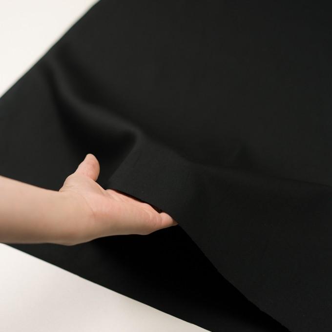 コットン×無地(ブラック)×オックスフォード イメージ5