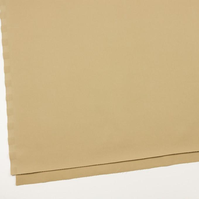 コットン&ビスコース混×無地(サンドベージュ)×サージストレッチ_全2色_イタリア製 イメージ2
