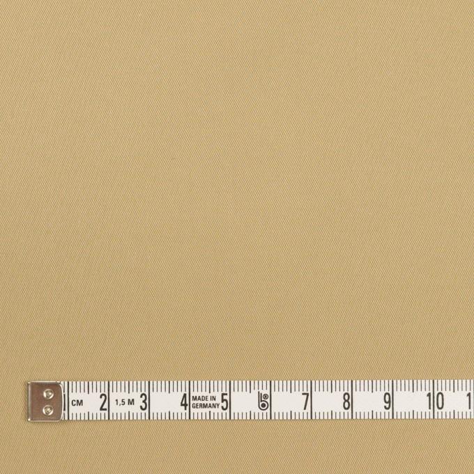 コットン&ビスコース混×無地(サンドベージュ)×サージストレッチ_全2色_イタリア製 イメージ4