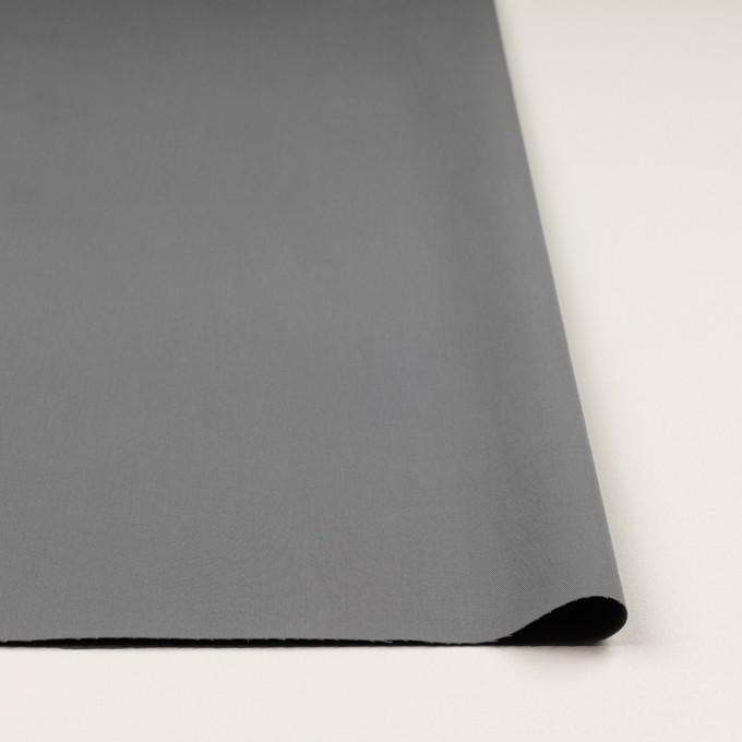 コットン&ビスコース混×無地(スチール)×サージストレッチ_全2色_イタリア製 イメージ3