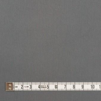 コットン&ビスコース混×無地(スチール)×サージストレッチ_全2色_イタリア製 サムネイル4