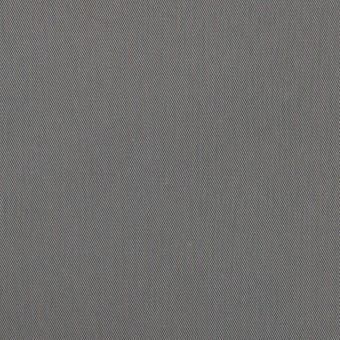 コットン&ビスコース混×無地(スチール)×サージストレッチ_全2色_イタリア製 サムネイル1