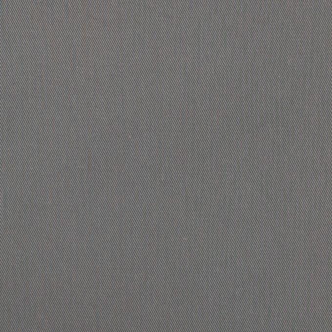 コットン&ビスコース混×無地(スチール)×サージストレッチ_全2色_イタリア製 イメージ1