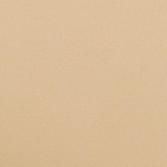コットン&ポリウレタン×無地(ベージュ)×チノクロス・ストレッチ_全2色