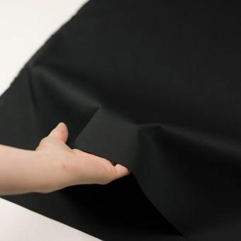 コットン&ポリウレタン×無地(ブラック)×チノクロス・ストレッチ_全2色 サムネイル5