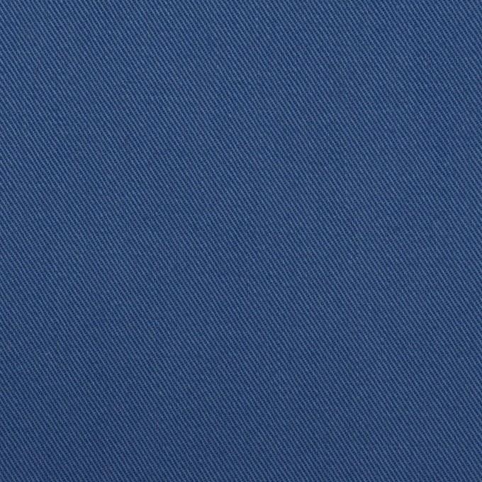 コットン×無地(マリンブルー)×チノクロス イメージ1