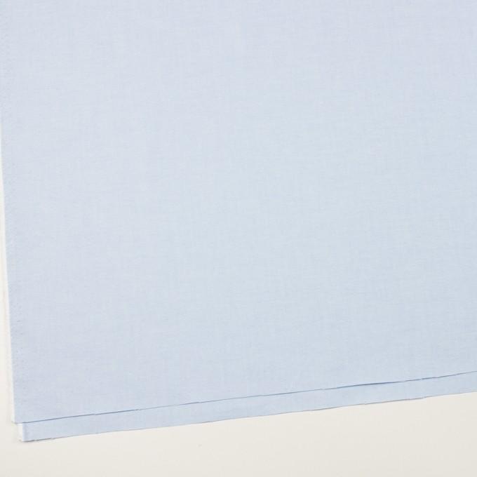 コットン×無地(ペールブルー)×オックスフォード イメージ2