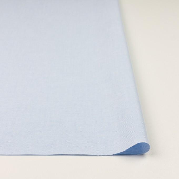 コットン×無地(ペールブルー)×オックスフォード イメージ3