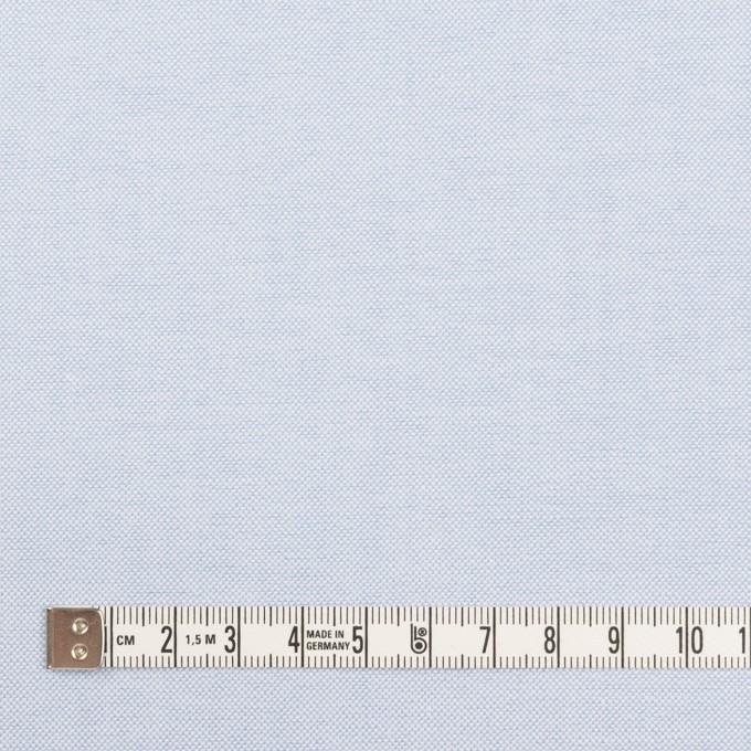 コットン×無地(ペールブルー)×オックスフォード イメージ4