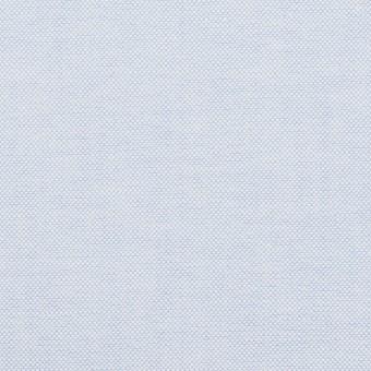 コットン×無地(ペールブルー)×オックスフォード