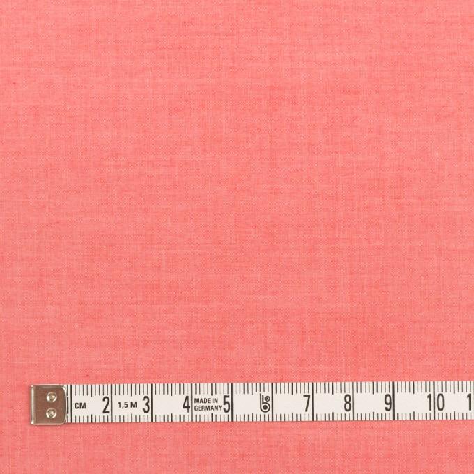 コットン×無地(チェリー)×シャンブレー・ローン_全2色 イメージ4