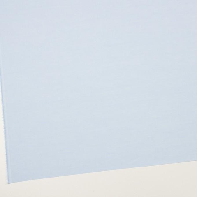コットン×無地(ペールブルー)×シャンブレー・ローン_全2色 イメージ2