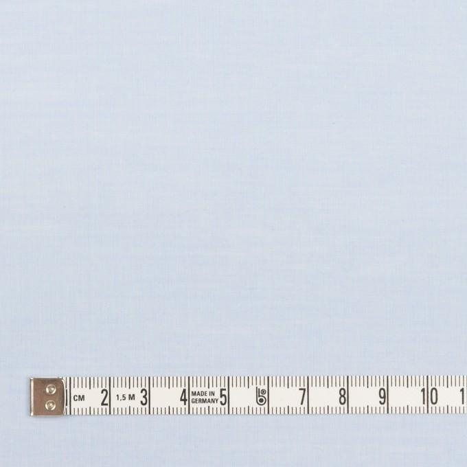 コットン×無地(ペールブルー)×シャンブレー・ローン_全2色 イメージ4