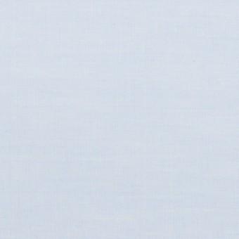 コットン×無地(ペールブルー)×シャンブレー・ローン_全2色
