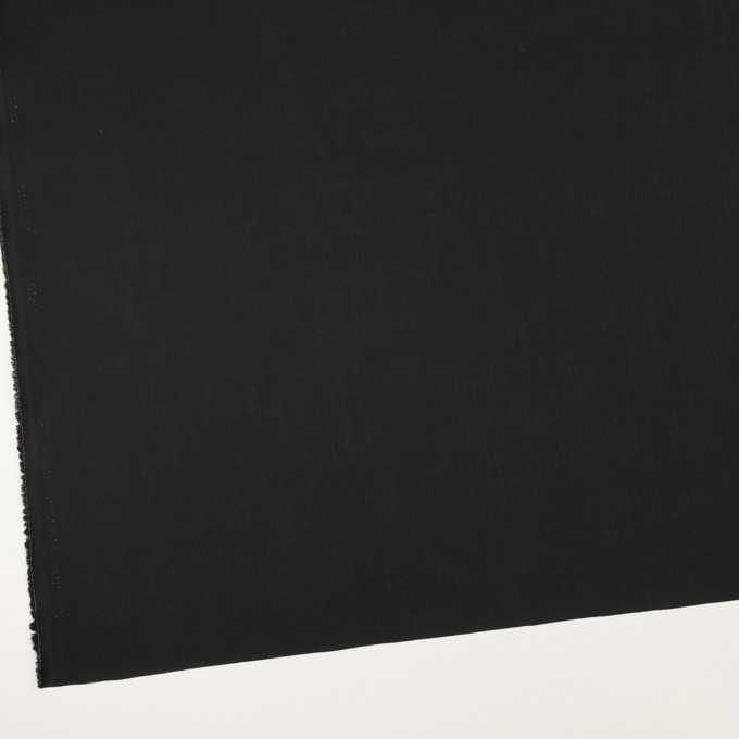 コットン×無地(ブラック)×ローン_全5色 イメージ2