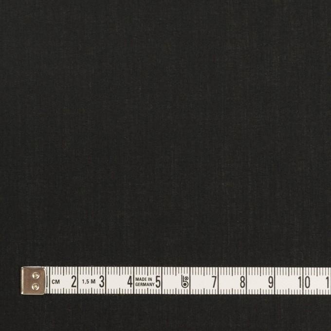 コットン×無地(ブラック)×ローン_全5色 イメージ4