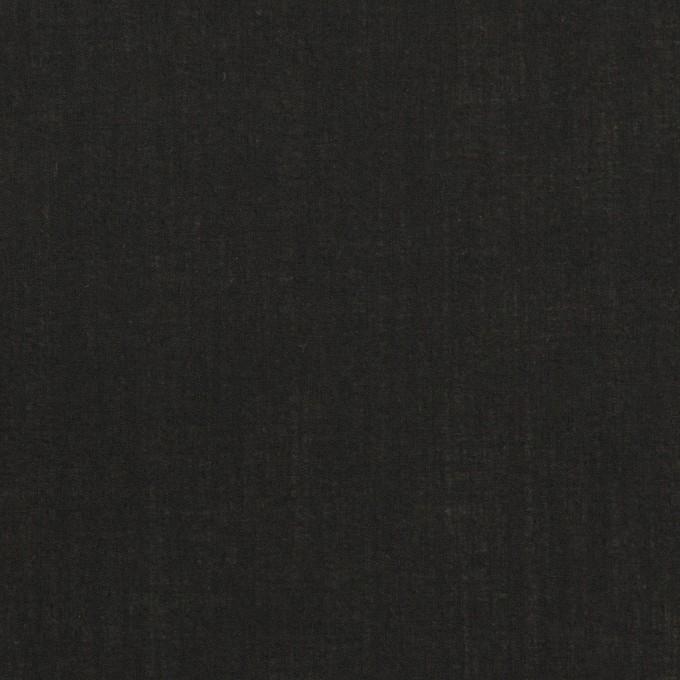 コットン×無地(ブラック)×ローン_全5色 イメージ1