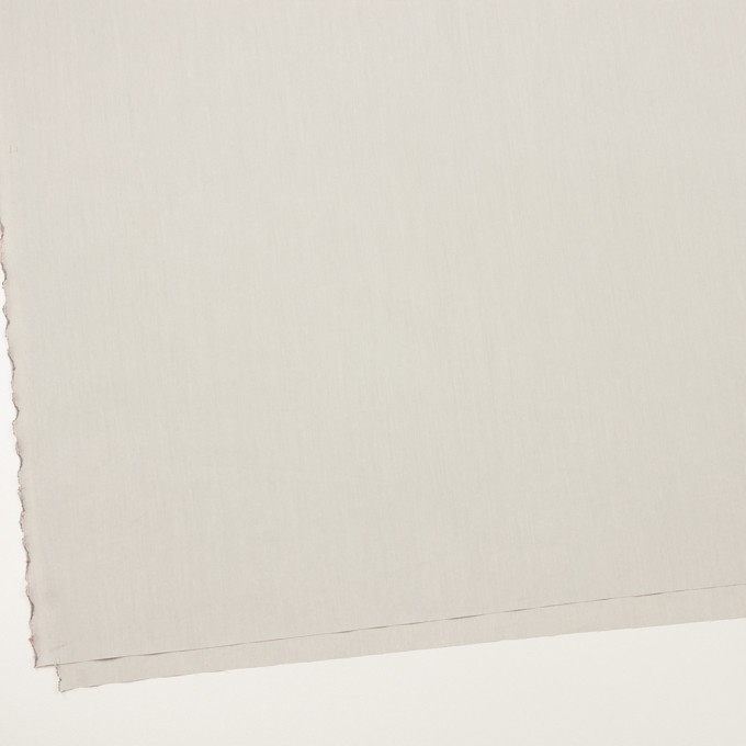 コットン&ポリアミド×無地(ライトグレー)×シャンブレー_全2色_イタリア製 イメージ2