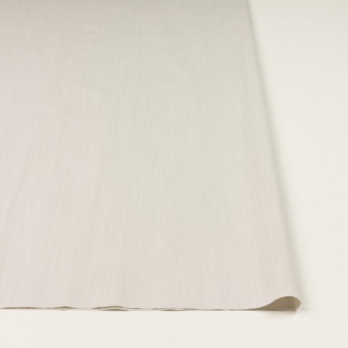コットン&ポリアミド×無地(ライトグレー)×シャンブレー_全2色_イタリア製 イメージ3