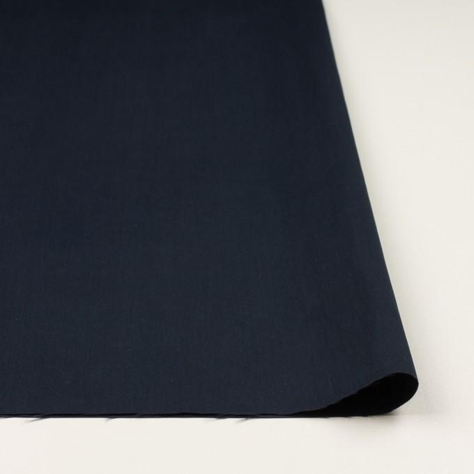 コットン&ポリアミド×無地(ダークネイビー)×サージ_全2色_イタリア製 イメージ3