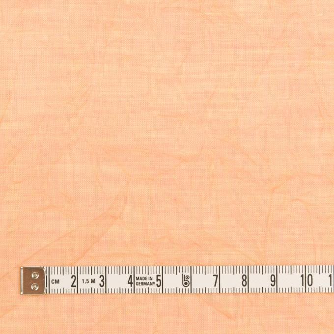 コットン×無地(アプリコット)×ボイルワッシャー_全4色 イメージ4