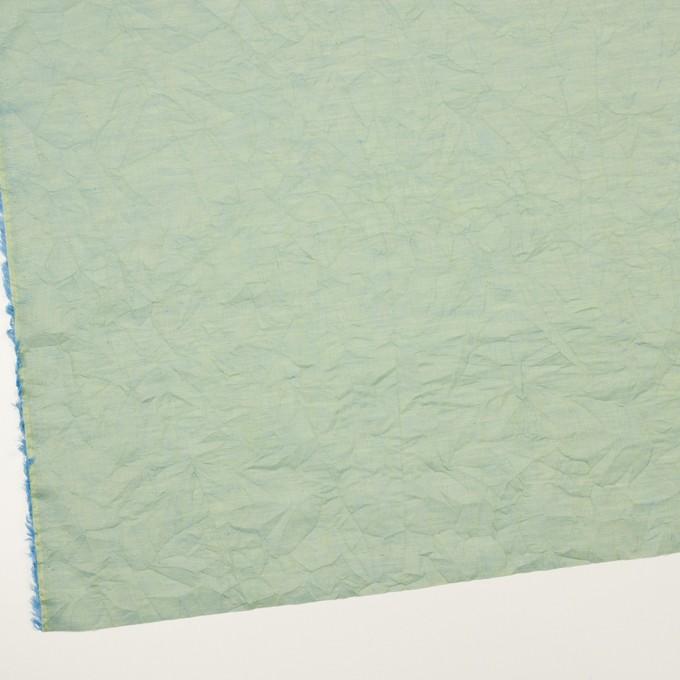 コットン×無地(シーグリーン)×ボイルワッシャー_全4色 イメージ2