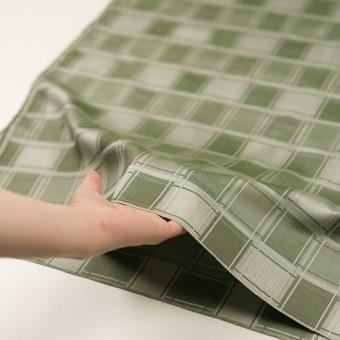 コットン×チェック(アイビーグリーン)×風通織(二重織) サムネイル5