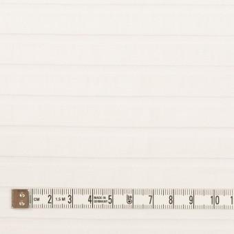 コットン&ポリエステル×ボーダー(オフホワイト)×オーガンジー・ジャガード_全2色 サムネイル4