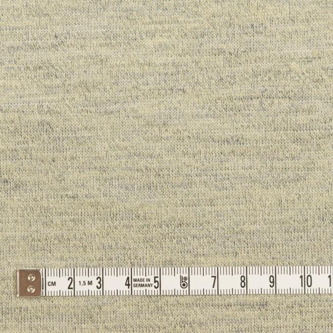 コットン&リネン×無地(グリーンティー)×天竺ニット_全2色 イメージ4