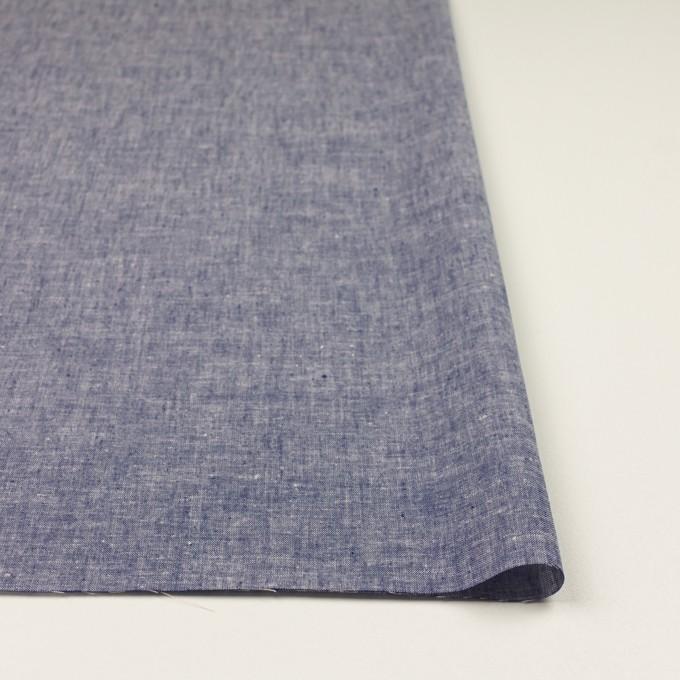 コットン&リネン×無地(ブルー)×薄ダンガリー イメージ3