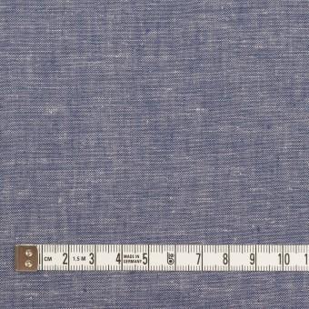 コットン&リネン×無地(ブルー)×薄ダンガリー サムネイル4